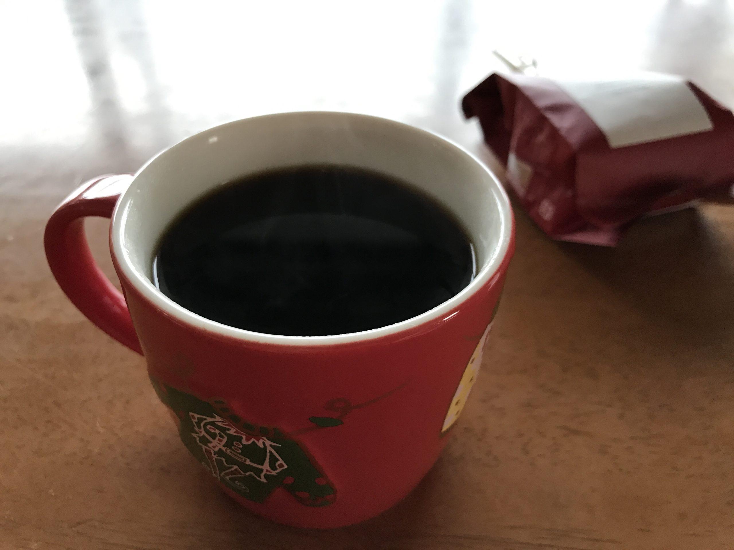 豆から淹れたコーヒーは格別